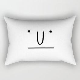 Classic Face Rectangular Pillow