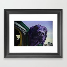 Where Are We Going Now? Framed Art Print