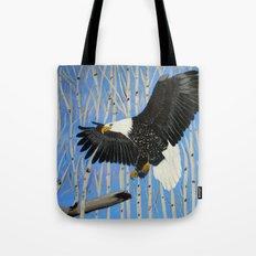 Bald Eagle-3 Tote Bag