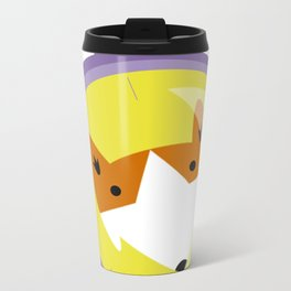 Compass fox Metal Travel Mug