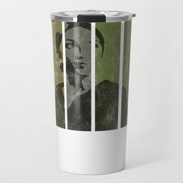 Alexandria Ocasio-Cortez Feminist Political Travel Mug