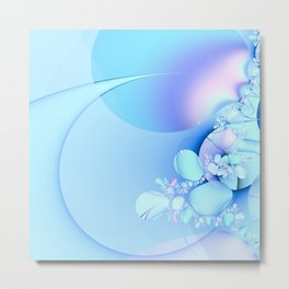 Serenity with Baby Pastels Metal Print