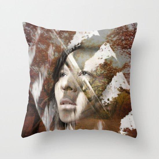 Earth Citizen Throw Pillow