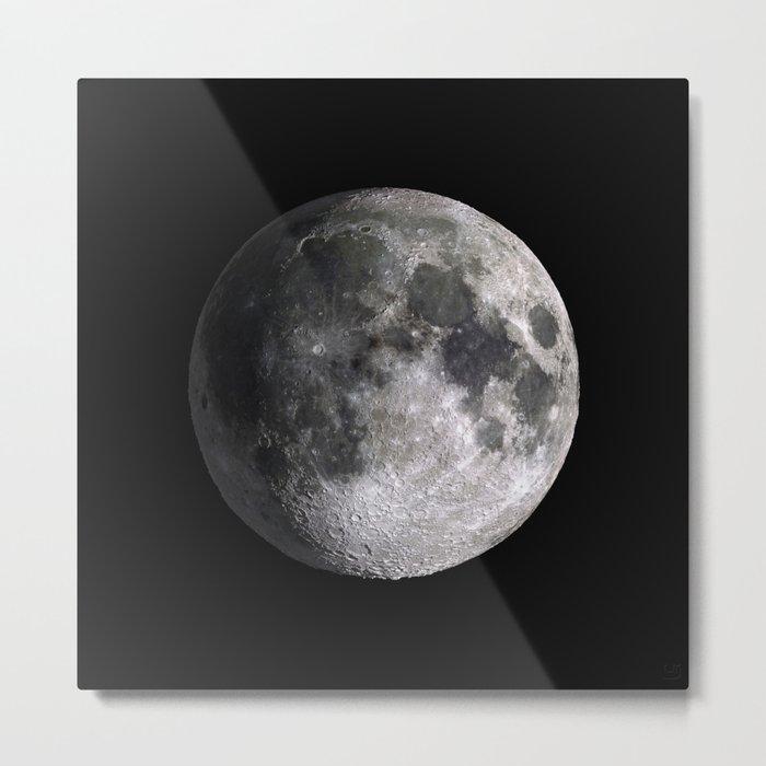 The Full Moon Super Detailed Print Metal Print