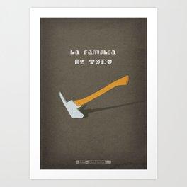 Breaking Bad - One Minute Art Print