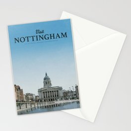 Visit Nottingham Stationery Cards