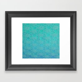 Lace Over #2 Framed Art Print