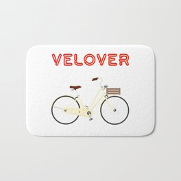 VeLover – City – June 12th – 200th Birthday of the Bicycle Bath Mat