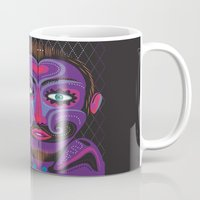 clown Mugs featuring Clown by charker