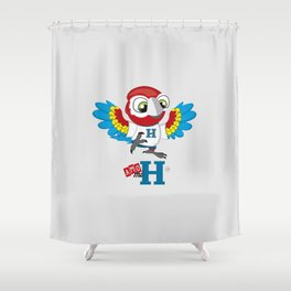 Amo mi H Shower Curtain