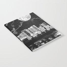 Portland Oregon Skyline Notebook