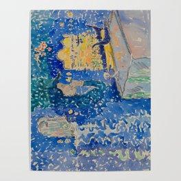 Venice Night of the Festival of the Redeemer Henri-Edmond Cross Neo-Impressionism Pointillism Poster