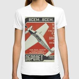 Vintage poster - Soviet Union T-shirt