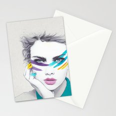 War Paint Sally Stationery Cards
