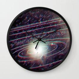 Orbit Rotation Wall Clock