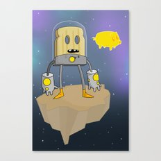 Space Toast Canvas Print