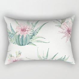 Cactus Pattern Light Green #society6 #buyart Rectangular Pillow