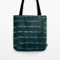 crocodile Tote Bags featuring crocodile by clemm