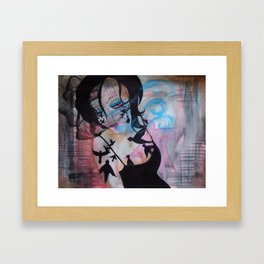 To Fill What Was Left Behind Framed Art Print