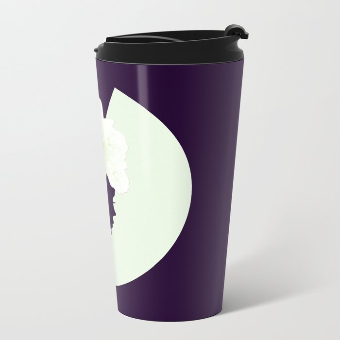 Silhouettes of night Metal Travel Mug