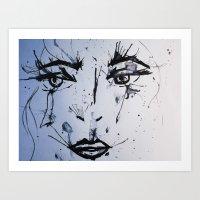 Alone I Wonder. Art Print