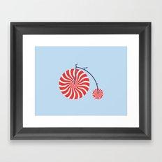 Sweet Ride Framed Art Print