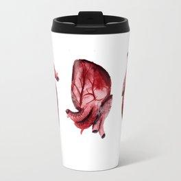 Watercolour Heart Travel Mug