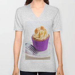 Banoffee Cupcake Unisex V-Neck