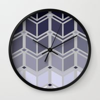 art deco Wall Clocks featuring Deco-Art by HelmichDesign