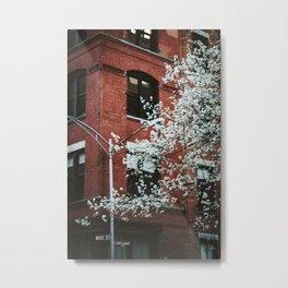 walks in the financial district Metal Print