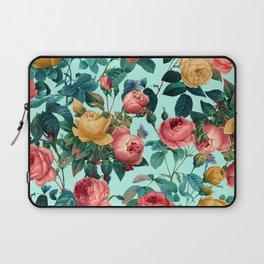 Spring-Summer Botanical Pattern II Laptop Sleeve