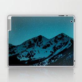 Mountains at night I // Boulder Colorado Laptop & iPad Skin