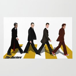 The Doctor who at abbey road iPhone 4 4s 5 5c 6 7, pillow case, mugs and tshirt Rug