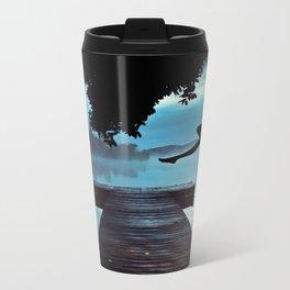 Lake Metal Travel Mug