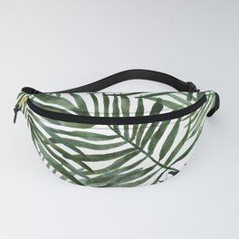 Watercolor simple leaves Fanny Pack