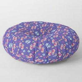 Caballito Flor Floor Pillow