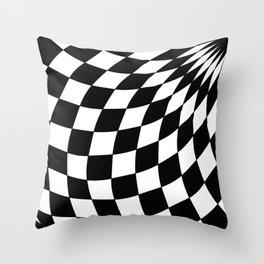 Wonderland Floor #1 Throw Pillow