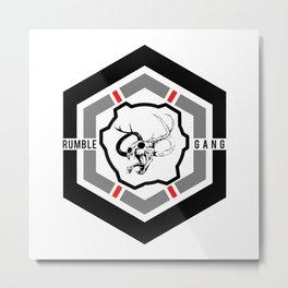 Rumble Gang HEXAGON Metal Print