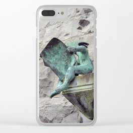 The Avid Reader Clear iPhone Case