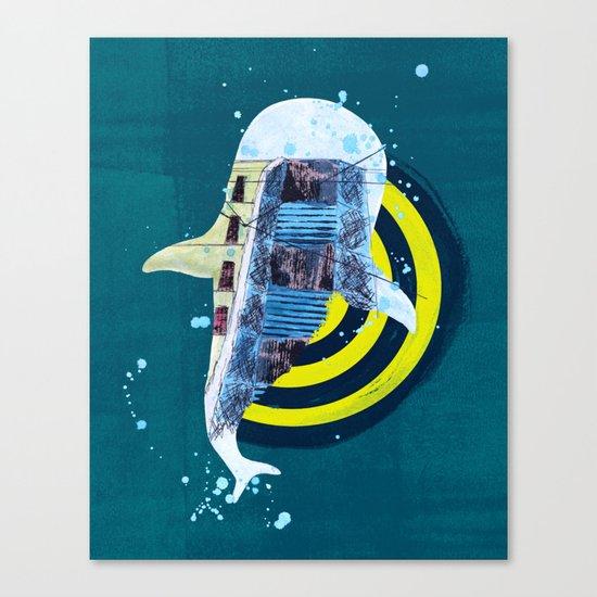 terra incognita I Canvas Print