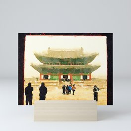 Seoul Grand Palace Mini Art Print