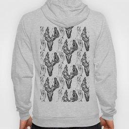 Deer Skull Pattern Hoody