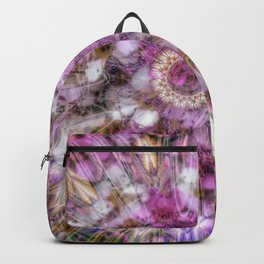 Floral fusion mandala Backpack