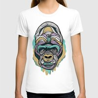 gorilla T-shirts featuring Gorilla by casiegraphics