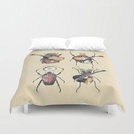 Meet the Beetles Duvet Cover