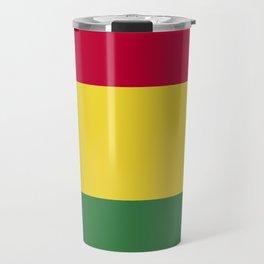 Bolivia flag emblem Travel Mug