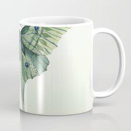 Green Luna Moth 3 Coffee Mug