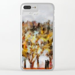 Triste Clear iPhone Case
