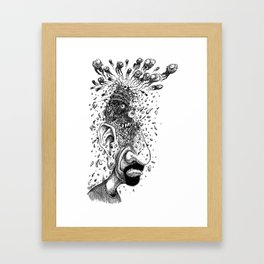 Squiggles Framed Art Print