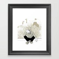 come find me - popshot magazine  Framed Art Print